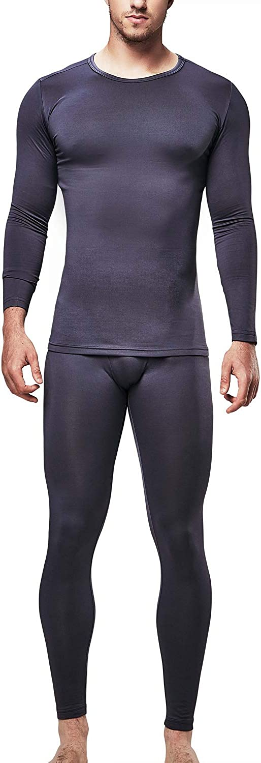 DEVOPS Men's Thermal Underwear Long Johns Set with Fleece Lined at  Men's Clothing store