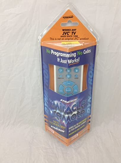 Miracle Remote for JVC TV (Discontinued by Manufacturer)
