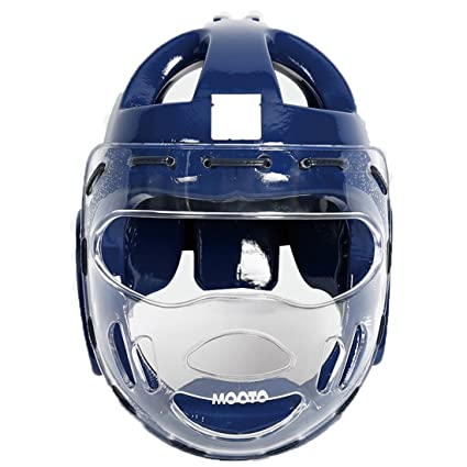 Image result for Martial Arts blue helmet with/ face shield