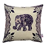 Monkeysell The new square Europe and the United States abstract Elephant patterns Digital printing pillowcase/pillow cover 18 x 18 inch (S029A4)