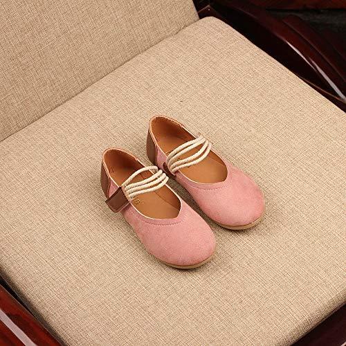 Nubuck bambino Dancers Pelle Sandali Piccolo Liuchehd Ballerine Rosa Principessa Casuale Shoes Ragazze Danza Singolo Bambine Da E Scarpe HUOHnwg7qY