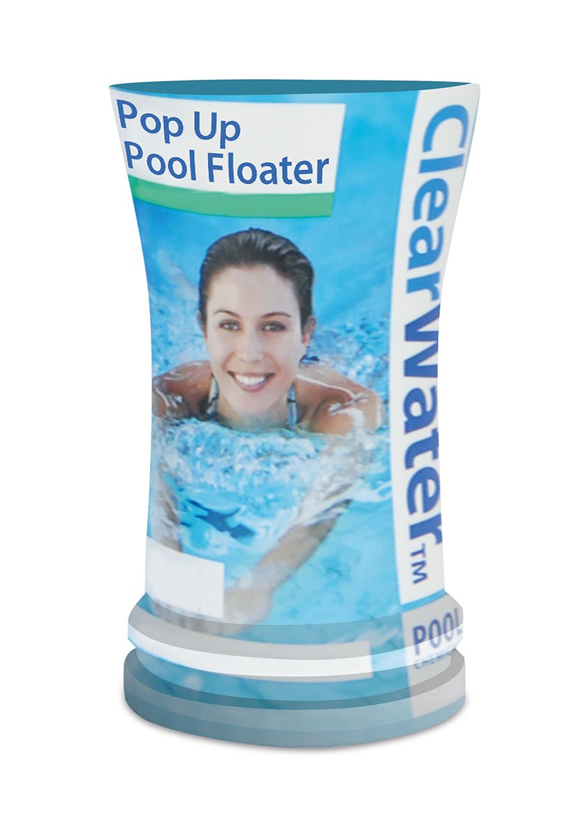 Clearwater CH0023 Filled Floater Spa for Swimming Pool and Spa Treatment