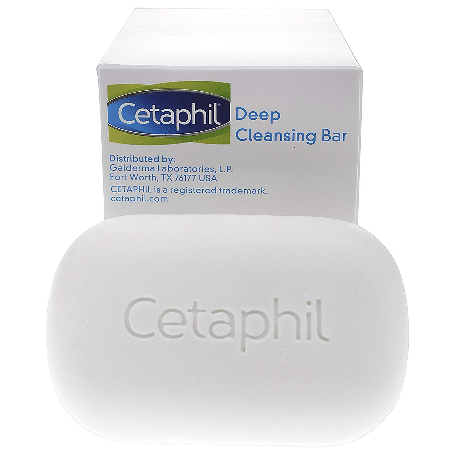 Cetaphil Deep Cleansing Face & Body Bar for All Skin Types (Pack of 11) (Pack of 11) by Cetaphil (Image #2)