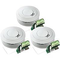 Ei Electronics Ei650RF 10-Jahres-Funkrauchmelder, 3 Stück