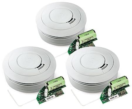White Pack of 1 EI Electronics Ei603TYC 10/Years Heat Detector
