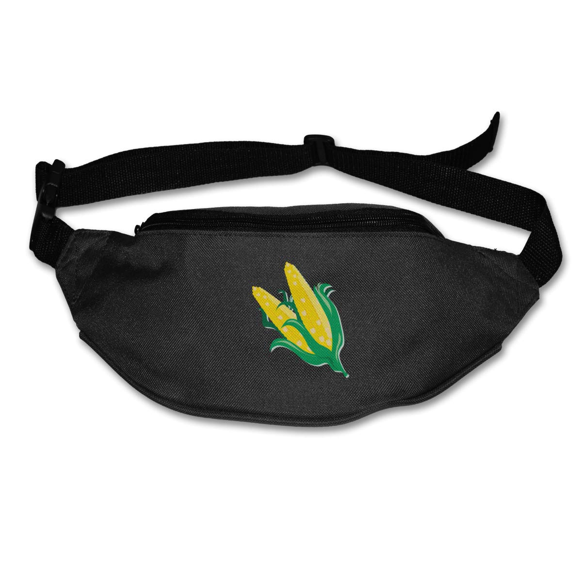 Yellow Corn On The Cob Sport Waist Bag Fanny Pack Adjustable For Hike