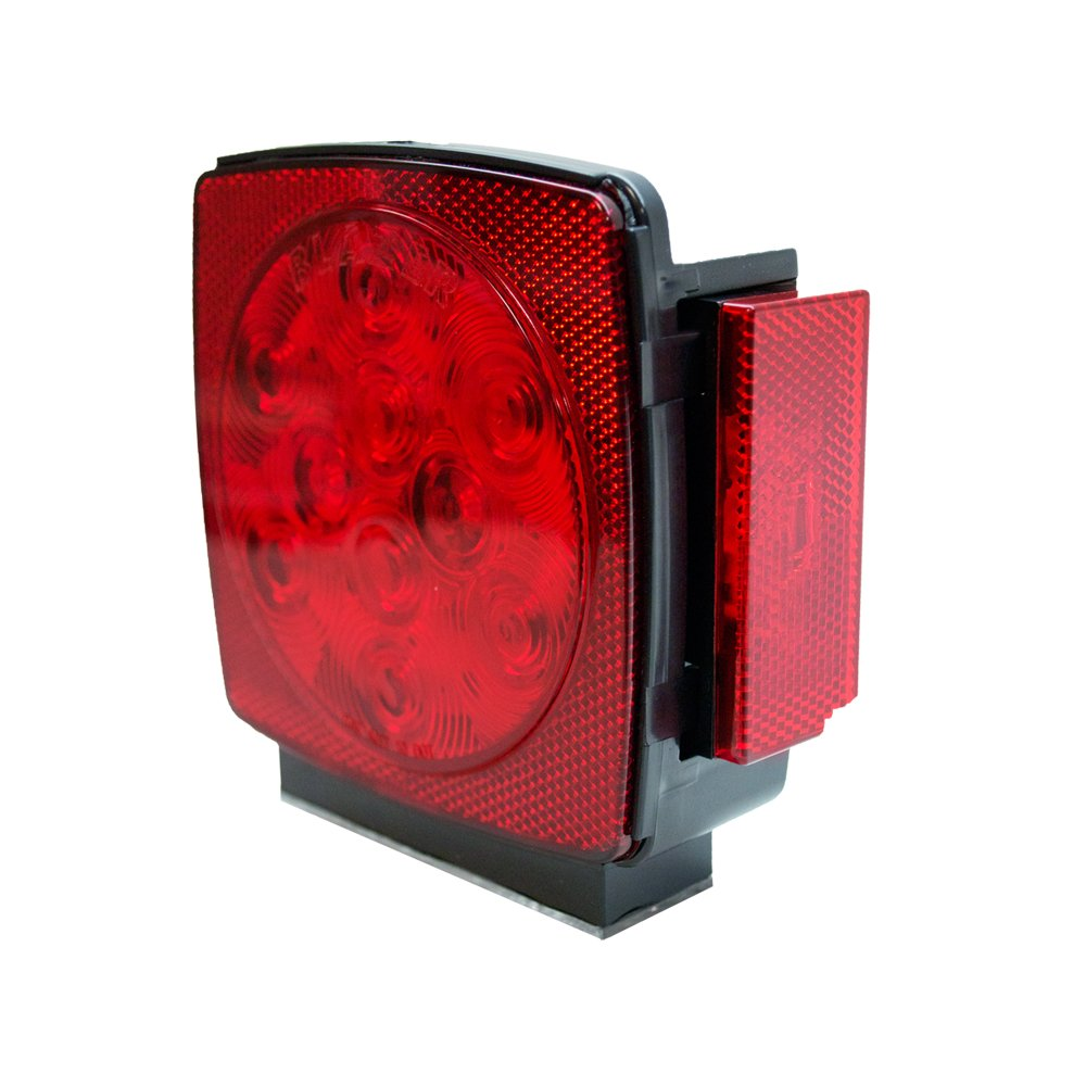 Blazer C789RTM LED Square Submersible Stop//Tail//Turn Light Red Left or Right Side