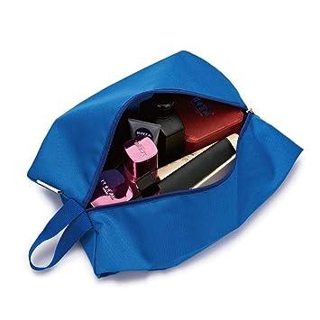 ZHANGZHIYUA Bolsas de Zapatos de Viaje de Tela Oxford ...