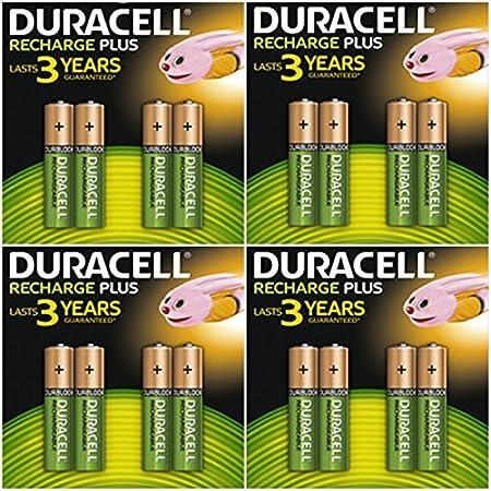 16x Duracell Duralock Aaa 750mah Ni Mh Akkus Rechargeable Wiederaufladbare Akkus Batterie Küche Haushalt