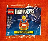 Supergirl Exclusive Polybag + Excalibur Batman + Bionic Steed Fun Pack - LEGO Dimensions - Not Machine Specific