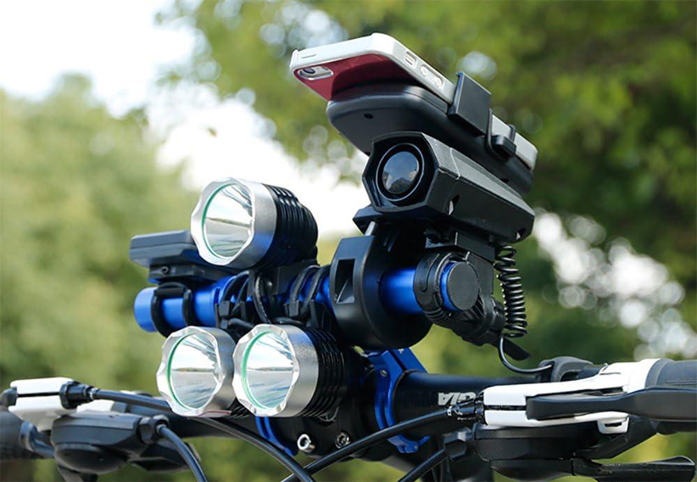 Newdoar 20 cm Extended Support pour Guidon de Vélo Phare Lampe de Barre de  Support Support pour Téléphone Portable en Alliage en Fibre de Carbone  Support Extender, Blue and Fiber: Amazon.fr: Sports