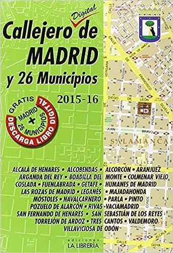 Callejero digital de Madrid y 26 municipios 2015-16: Amazon ...