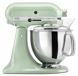 KitchenAid KSM150PSPT Artisan Series 5-Qt. Stand Mixer with Pouring Shield - Pistachio