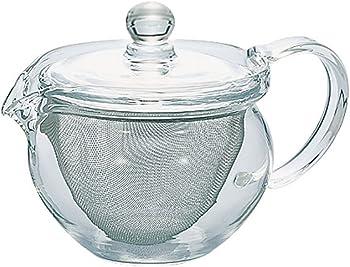 Hario 300ml Glass Cha Kyusu Maru TeaPot