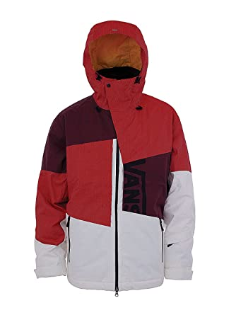 60a22eb901 Vans Herren Jacke Ridge ins Snowboardbrille Unisex L rot - weiß ...