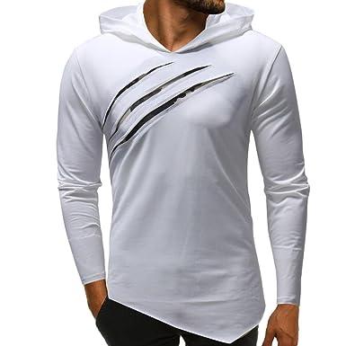 Camisas de Hombre Manga Larga,Dragon868 Camuflaje Costura Sudaderas Camisas de Otoño de Largo para Hombres Chicos: Amazon.es: Ropa y accesorios