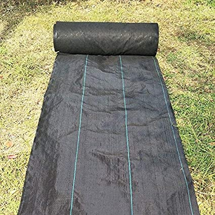 Agfabric All Purpose Folded Landscape Garden Mat 5ounce Weed Barrier Fabric  For Raised Bed, Outdoor