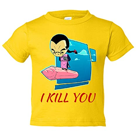 Camiseta niño Dragon Ball Tao Pai Pai Kawaii - Amarillo, 3-4 años