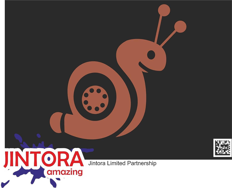 JINTORA Etiqueta para el Coche/Etiqueta engomada - Caracol Turbo III - 99x99 mm - JDM/Die Cut - Coche/Ventana/Laptop/Ventana - Negro: Amazon.es: Coche y ...