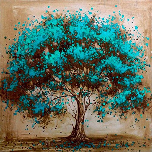 Clearance! Neartime 5D DIY Diamond Painting Rhinestone Landscape Tree Pictures of Crystals Diamond Dotz Kits Arts, Crafts & Sewing Cross Stitch Mediumn (25x20cm, B)