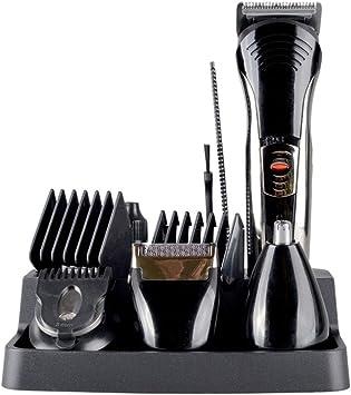 Hair Trimmer Set, 7 En 1 Mens Razor Eléctrico Recargable Body ...