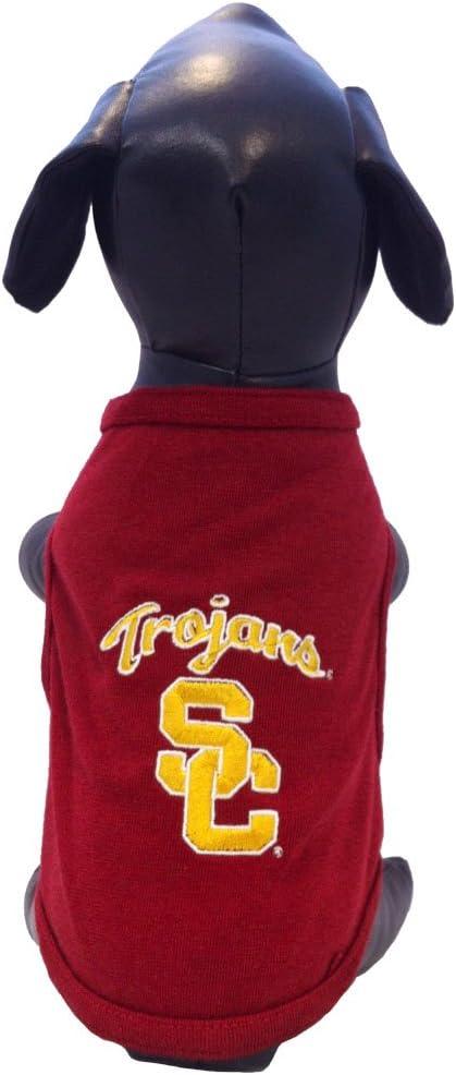 NCAA Arizona Wildcats Cotton Lycra Hooded Dog Shirt