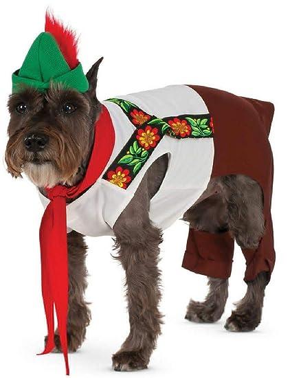 62e33ca62 Amazon.com  German Oktoberfest Lederhosen Hound for Pet Dog Costume   Clothing