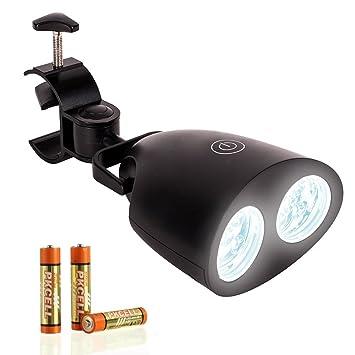 eocol barbacoa parrilla luz 10 LED Ultral brillante al aire libre barbacoa accesorios, asa para