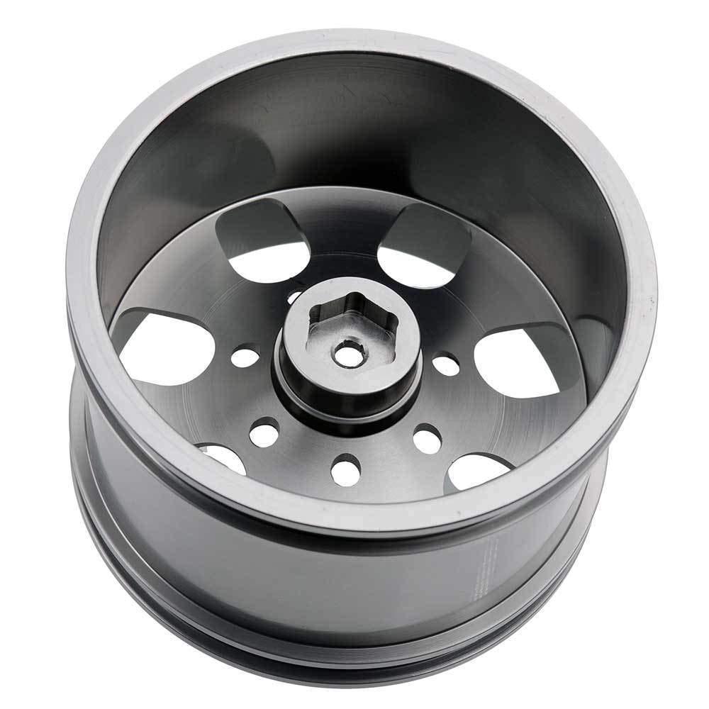Toyoutdoorparts RC 08008N Alumiunm Gray Wheels 4pcs for RedCat 1:10 Nitro Volcano S30 Truck by Toyoutdoorparts (Image #4)