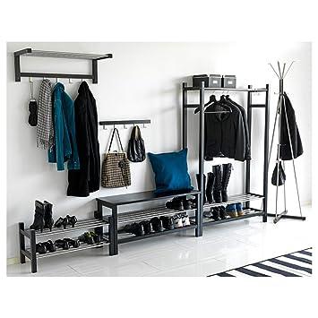 IKEA ASIA TJUSIG Zapatero Negro: Amazon.es: Hogar