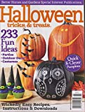 Better Homes & Gardens Halloween Tricks & Treats Magazine 2015