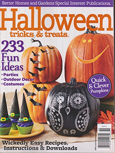 (Better Homes & Gardens Halloween Tricks & Treats Magazine)
