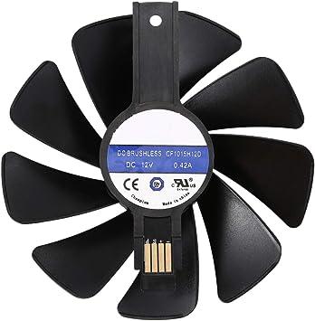 Amazon.com: Semoic CF1015H12D - Ventilador de refrigeración ...