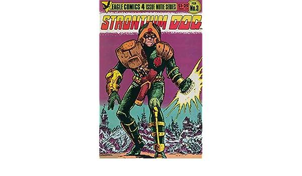 Carlos Ezquerra Eagle Comics USA, 1986 Strontium Dog # 3 of 4