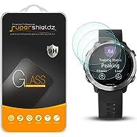 (3 Pack) Supershieldz for Garmin Forerunner 645 and Forerunner 645 Music Tempered Glass Screen Protector Anti Scratch…