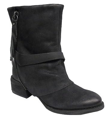 Naughty Monkey Womens Shelley Boot Black Size 6