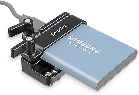 Nueva Versión) SMALLRIG T5 SSD Mount Soporte de Montaje Compatible ...