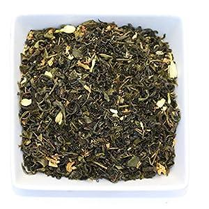 Tealyra - Lychee Jasmine Green - Loose Leaf Tea Blend - Medium Caffeine - 112g (4-ounce)