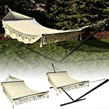 Sunnydaze American Deluxe Style Mayan Hammock or Hammock w/Stand Option