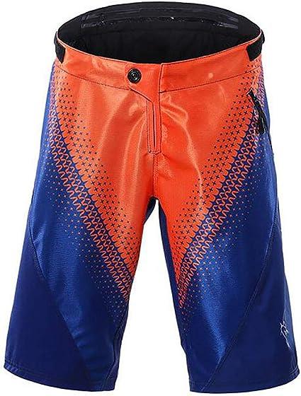 ZWPY Pantalones Ciclismo Hombres Cortos,Impermeable ...