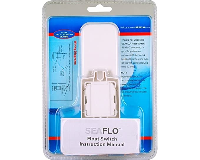 Seaflo Marine Boat Bilge Pump Float Switch - White: Amazon.co.uk ...