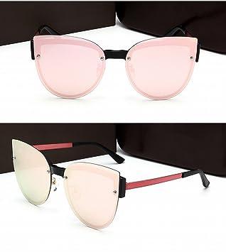 Gafas de Sol Grandes Del Marco Gafas de Sol Polarizadas de la Lente Del Color Frameless