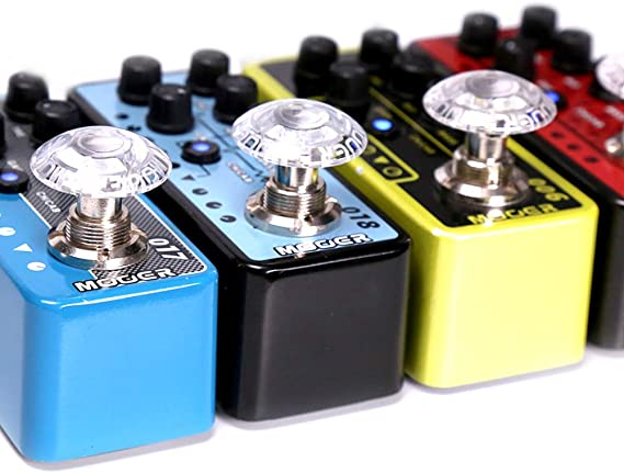 MOOER Guitar Effects Pedal Footswitch Toppers MOOER SHROOMS