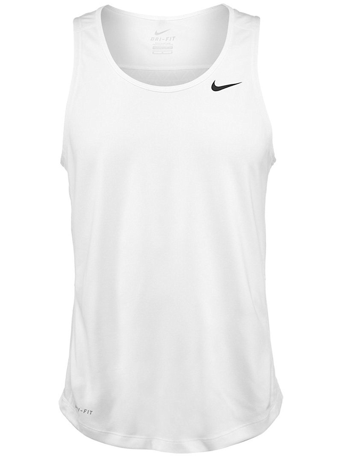 2cbec28545afc3 Amazon.com  Nike Men s Miler Singlet II 2X White  Sports   Outdoors