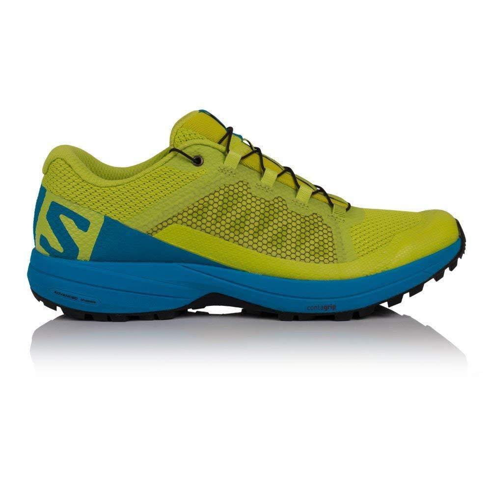 Acid Lime, Hawaiian Surf, Black Salomon Men's Xa Elevate Running shoes