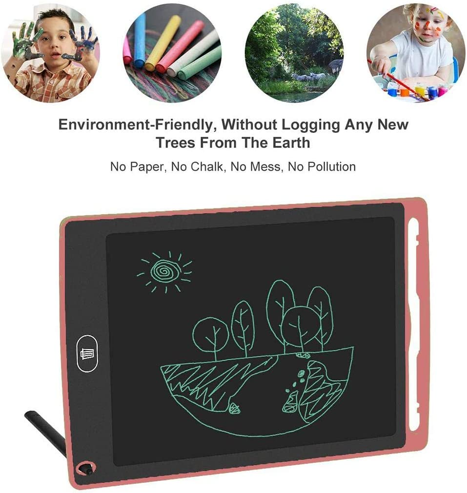 Acquaintant 8 Inch LCD Electronic Tablet Children Writing Graffiti Drawing Message Board Tablets