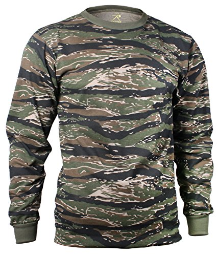 Rothco Long Sleeve T-Shirt, Camo, ()