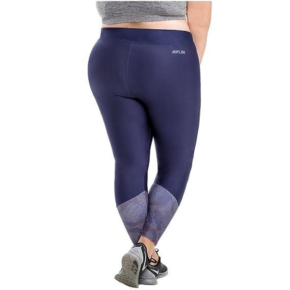 fc465c257b931 Duplah Blue Maui Womens Fashion Workout Pants Leggings Plus Size Ropa  Deportiva at Amazon Women's Clothing store: