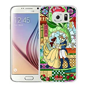 Popular Samsung Galaxy S6 Case, Beautiful Designed Case With beauty and the beast White Samsung Galaxy S6 Cover