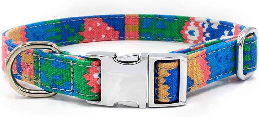 Sylar Collares para Perros, Collares para Gatos,Collares De Adiestramiento Ajustable, Collar Mascota Estampado Bohemio, Collares De Perro Cómodos Ajustables Cuello De Perro Acolchado Pequeño: Amazon.es: Productos para mascotas